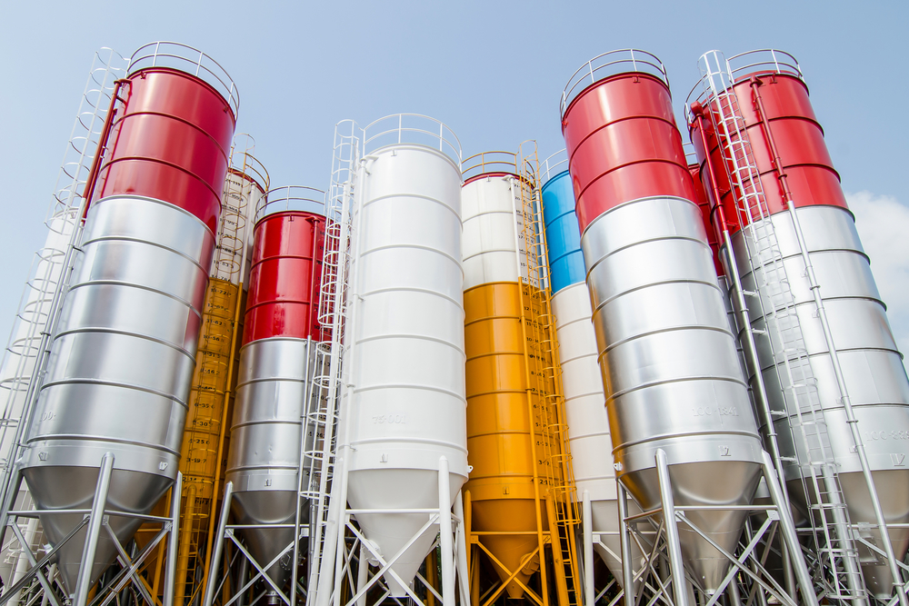 Tanks Silos Painted